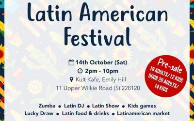 SPECIAL DISCOUNT to the Singapore Latin American Festival 2017!