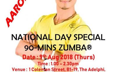 National Day Special Zumba Fitness Class
