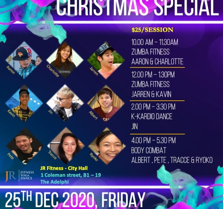 Christmas Special Class on 25th December 2020! ☃️❄️